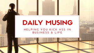 Daily Musings - Shane Black