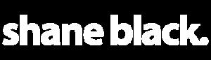 Shane Black Logo White